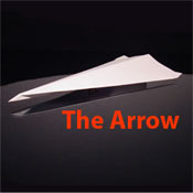 The Arrow Paper Airplane Pattern